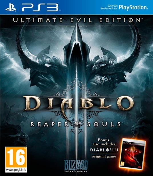 Diablo 3 Reaper of souls ultimate Evil Edition PS3