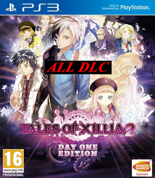 Tales Of Xillia 2 All DLC PS3